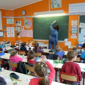 Floriane dans une école