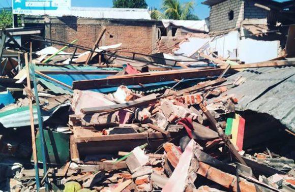 Témoignage Ambassadrice TWAM – Séïsme Lombok
